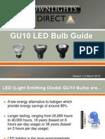 Gu10 Led Bulb Guide New