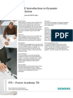 PA0157_PSSE Introduction to Dynamic Simulation