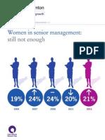 IBR2012 - Women in Senior Management