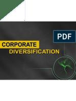 Corporate Diversification 15 Nov'10 Rev.