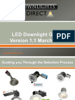 LED Downlight Guide V1.1