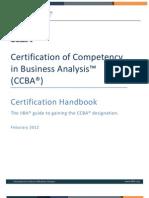 CCBA Handbook