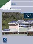 Australian BCSE - Solar PV Systmes - User's Maintenance Guide