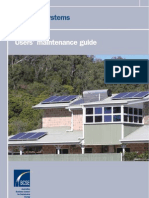 Australian BCSE - Solar PV Systmes - User's Maintenance Guide