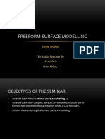 Freeform Surface Modeling 07