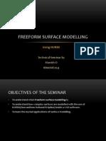 Freeform Surface Modeling 07
