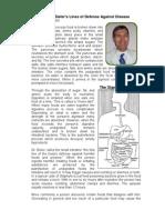Dr Henry G Bieler Lines of Defense Against Disease