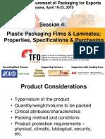 Guyana TFO Pkg W'Shp Session 4 - Plastic Film