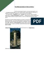 Arta Monumental A in Grecia Antica