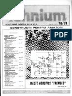 Tehnium 10 1981