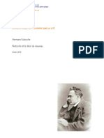 """H. Kuitzsche, """"Nietzche et le désir du nouveau"""""""