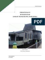 Tugas Struktur Kayu - Rumah Banjar