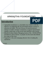 Aparajitha Foundations