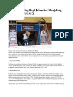 Catatan Penting Bagi Jobseeker Menjelang Career Days UGM X