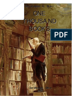 A Thousand Books