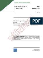 IEC 61400-21