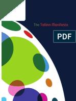 Tallinn Manifesto Re-Thinking the Creative Economy Dec2011