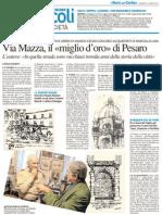 Via Mazza, il «miglio d'oro» di Pesaro