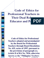 Bacolod - Code of Ethics 090408
