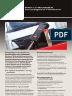 Delphi Werkzeugkatalog Kraftstoff-Analyse