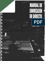 Manual de sonorización en directo - carles p. mas