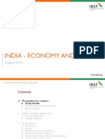 India Economy and Trends 170811