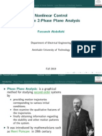 Phase Plane Analysis
