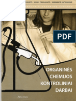 Organinės Chemijos Kontroliniai Darbai