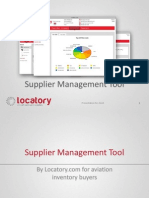 Locatory.com - The Supplier Management Tool (SMT)