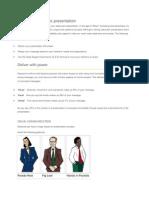 Make a Strong Sales Presentation