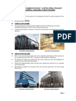 Steel Project Status Update
