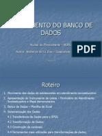 Treinamento Do Banco de Dados[1]