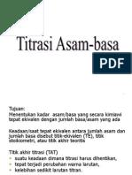 TITRASI ASAM-BASA