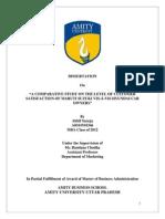 Dissertation Report HYUNDAI MARUTI