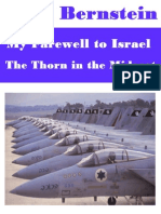 Jack Bernstein - My Farewell to Israel, The Thorn in the Mideast (Author Was Assassinated by Mossad)