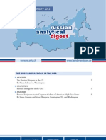 Russian Analytical Digest 107