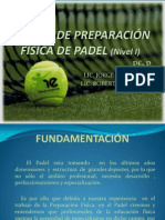 DOSSIER CURSO PREP.FIS. específica de padel