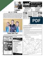 Petites annonces et offres d'emploi du Journal L'Oie blanche du 14 mars 2012