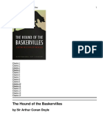 3) the Hound of the Baskervilles - Novel