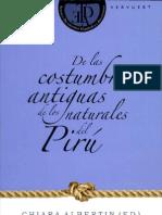 Costumbres Del Piru