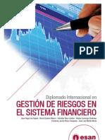 Tríptico Diplomado Internacional en Gestión de Riesgos en el Sistema Financiero