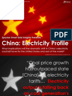 [Smart Grid Market Research] China Electricity Profile, Zpryme Smart Grid Insights, December 2011