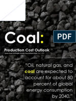[Smart Grid Market Research] Coal Production Cost Outlook (part 1 of 3), December 2011