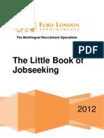 Euro London Appointments Little Book Of Jobseeking