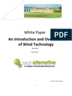 Introduction & Overview of Wind Technology
