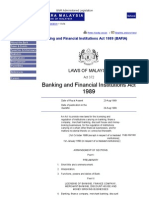 Banking and Financial Institutions Act 1989