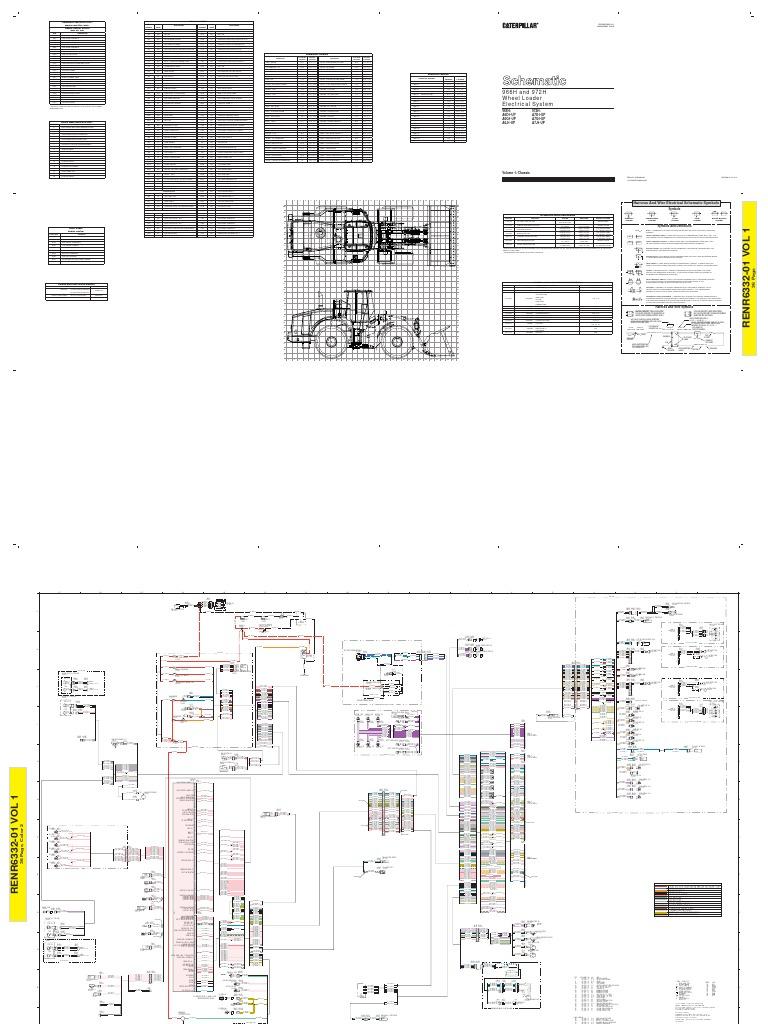 Wheel Loader Wiring Diagrams Electrical Salt Spreader Wire Diagram For Cat 966 Auto U2022