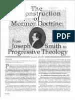 Reconstruction of Mormon Doctrine