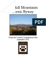 Catskill Mountains Scenic Byway Plan - Sept. 2011 Draft