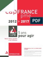 Cap FrancePME 2012-2017